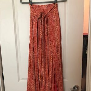 Free People Maxi Skirt Size 0